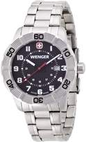 Wenger 010851102 - Men's Watch, Stainless Steel, Silver Color