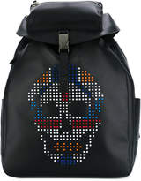 Alexander McQueen skull-embellished backpack