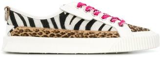 Jimmy Choo Impala animal-print sneakers