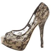 Dolce & Gabbana Lace Platform Pumps