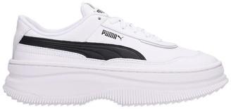 Puma Deva Sneakers In White Leather