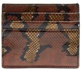 Bottega Veneta Watersnake Cardholder