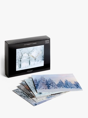 John Lewis & Partners Winter Scenes Bumper Charity Christmas Cards, Box of 25
