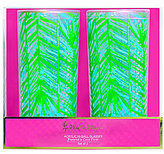 Lilly Pulitzer Costa Verde Acrylic Highball Glass Pair