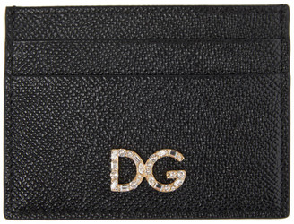 Dolce & Gabbana Black Dauphine Card Holder
