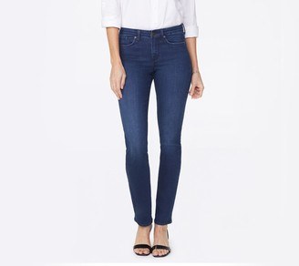 NYDJ Sheri Slim Jean with Back Pocket Embroidery