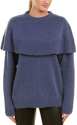 Chloé Cape Cashmere Sweater