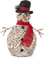 North Pole Trading Co. Outdoor Light-Up Snowman