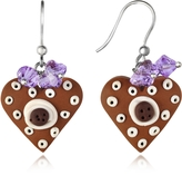Dolci Gioie Heart Cake Earrings