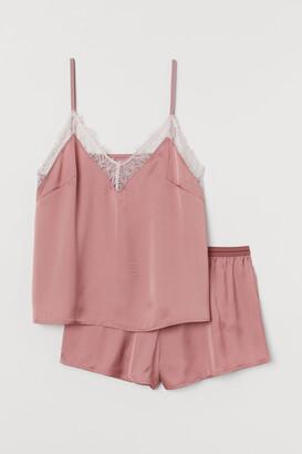 H&M Satin Pajamas