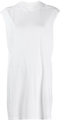 Rick Owens long-line sleeveless T-shirt