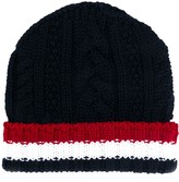 Thom Browne cable knit beanie
