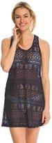 J Valdi J.Valdi XO Lace Ring Back Tank Cover Up Dress 8141015