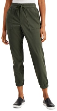 Style&Co. Style & Co Petite Utility Jogger Pants, Created for Macy's