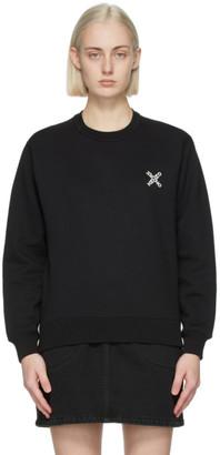 Kenzo Black Sport Logo Sweatshirt