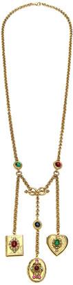 Ben-Amun 3-Charm Locket Necklace