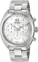 Movado Men's 0606477 Datron Quartz Chronograph Stainless-Steel Dial Watch