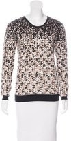 Marc by Marc Jacobs Embellished Metallic Sweater