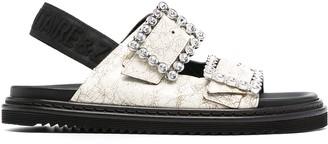 Zadig & Voltaire Alpha buckle sandals