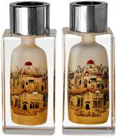Bed Bath & Beyond Golden Jerusalem Crystal Candlesticks (Set of 2)