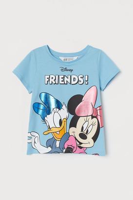 H&M Printed-design T-shirt