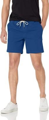 "Goodthreads Men's Slim-Fit 7"" Inseam Pull-On Comfort Stretch Canvas Short"