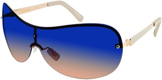 Southpole Women's 444SP Shield Sunglasses with 100% UV Protection 56 mm