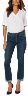 NYDJ Sheri Slim-Leg Ankle Jeans