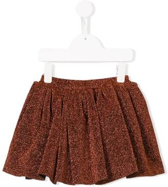 Caroline Bosmans Kids Glitter Mini Skirt