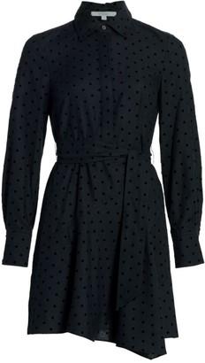 Derek Lam 10 Crosby Alecia Asymmetrical Shirtdress