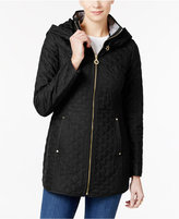 Laundry by Shelli Segal Hooded Quilted Parka