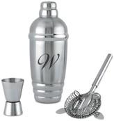 Lenox Tuscany Monogram Barware Cocktail Shaker, Script Letters