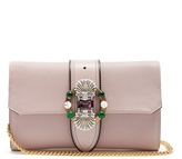 Miu Miu Crystal-embellished clutch