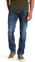 True Religion Dark Wash Flap Pocket Skinny Jean