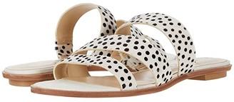 Sole Society SOLE / SOCIETY Simonaa (Black/White Multi) Women's Sandals