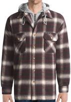 Moose Creek Quilted Hoodie Sweatshirt - Dakota II (For Men)