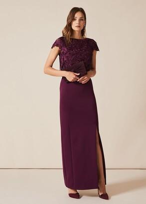 Phase Eight Olivia Scuba Maxi Dress