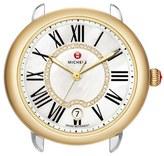 Michele Women's Serein 16 Diamond Dial Two-Tone Round Watch Head, 34Mm X 36Mm