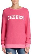 Wildfox Couture Cheers Graphic Pullover