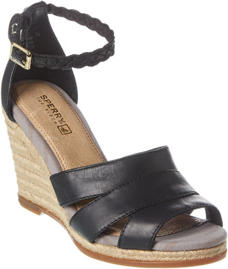 Sperry Skye Leather Wedge Sandal