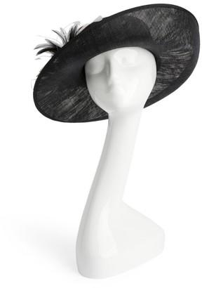 Siggi Feather-Detail Felt-Sinamay Hat