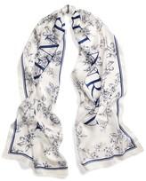 Ralph Lauren Anais Floral Silk Scarf