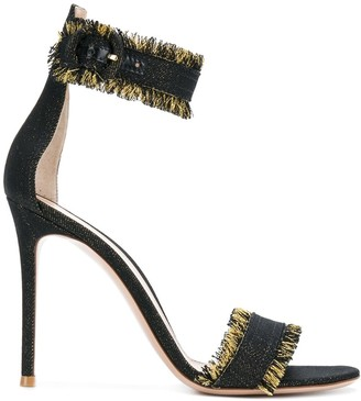 Gianvito Rossi Lola fringed sandals