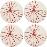 Mikasa Pure Red Set of 4 Coasters