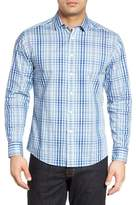 Vince Camuto Plaid Trim Fit Sport Shirt