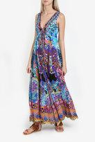 Camilla V-Neck Drawstring Dress