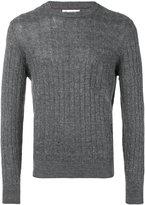 Brunello Cucinelli crew neck jumper - men - Cotton/Linen/Flax - 52