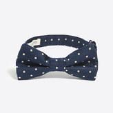 J.Crew Factory Boys' patterned silk bow tie
