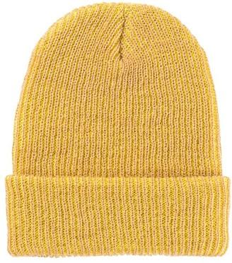 Verloop Simple Rib Hat Camel/Yellow