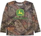 John Deere Boys 4-7 Camouflage Long-Sleeve Tee